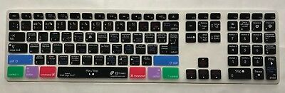 Apple Logic Pro X KB Cover For Apple Keyboard With Numeric Pad