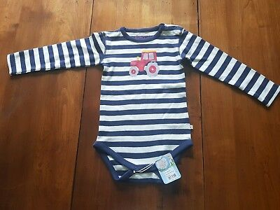 Boys Stripped Vest BNWT age 18-24 months