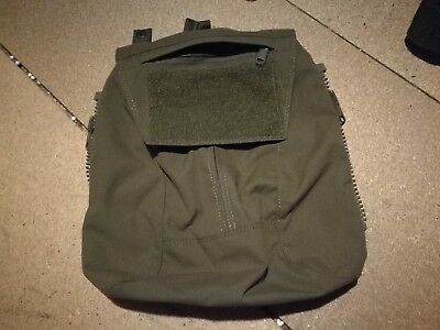 TMC Crye Style Zip On AVS JPC Pouch Airsoft Ranger Green.