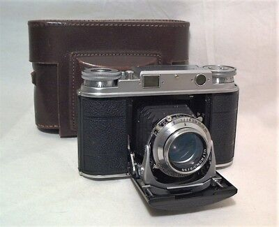Voigtlander Vito Iii Folding 35Mm Rangefinder - Gorgeous Clean & Working