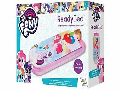 My Little Pony Ready Bed Inflatable Toddler Sleeping Bag Airbed with Pump NEW