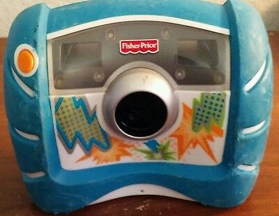 Fisher Price Kidtough Digital Camera 2000 Blue