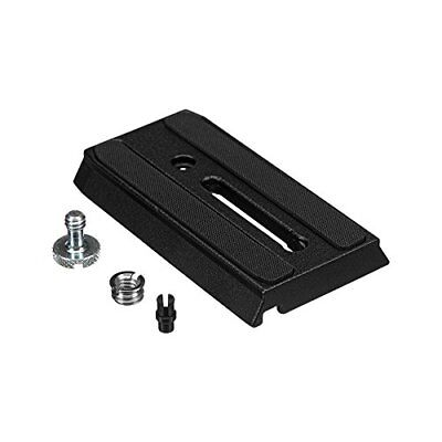 Manfrotto 501PL Rapid Connect Sliding Plate with 1/4'' and 3/8'' Camera Fixing