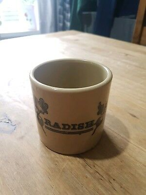 Pearsons of chesterfield radish pot