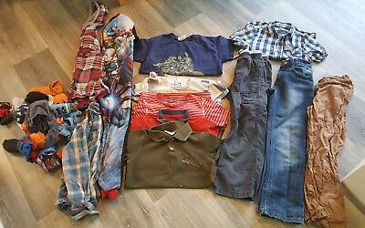 7 8 Years Long Sleeve Tops Shirts Jeans Boys Trendy Clothes Bundle 11 Items