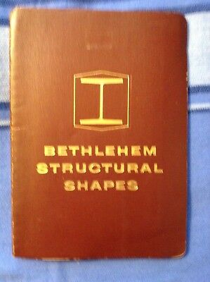 BETHLEHEM Structural Shapes  Catalog S- 58 Steel info and tables beams shipbuild