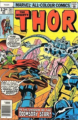 Marvel Comics - THE MIGHTY THOR vol.1 no.261, July 1977
