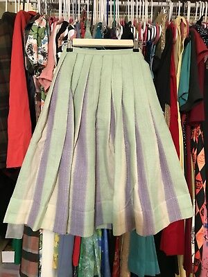 Vintage Double Sided Wool Skirt 1950s