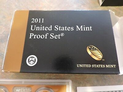 2011 United States Mint Proof Set 14 Piece Clad Set, Mint in Original Box!