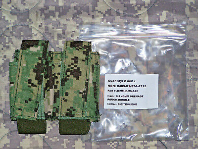 NEW Eagle Industries  AOR2 Double 40MM Grenade Pouch MOLLE DEVGRU SEALs