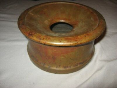 Vintage Antique Brass Old Early Spittoon Rare Nr