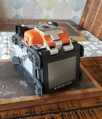 Sumitomo Type-71C SM MM Core Alignment Fiber Fusion Splicer w/ Cleaver Type 71