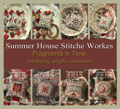 Fragments in Time 2018 Cartouches Summer House Stitche Workes Pattern