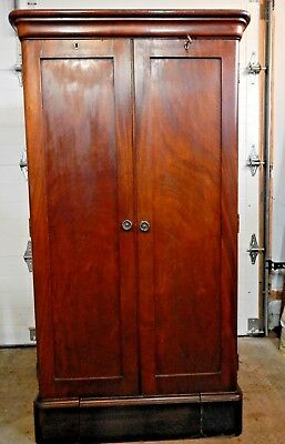 1902 Berkey And Gay Second Empire Small Wardrobe With Secret Compartments
