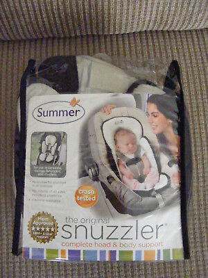 Summer Original Snuzzler Infant Head And Body Support Pillow Car Seat Stroller