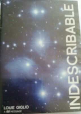 Louie Giglio INDESCRIBABLE DVD brand new (2005, Passion conference, 1xDVD disc)
