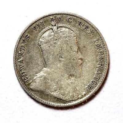 Canada Silver 10 Cents 1903-H