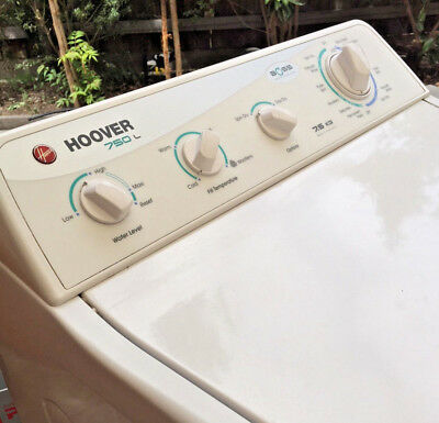 Hoover Boss 7.5kg top loader washing machine