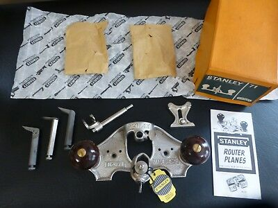 FACTORY PACKED MINT Stanley No 71 ROUTER PLANE IN BOX made in England