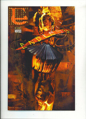 Sandman :the endless gallery 1 VFN/NM 1995 Neil Gaiman Totleben DC Comics