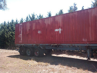 Container  trailer 40' 12mtr Freighter 3 way pins Sydney/Austral or Picton