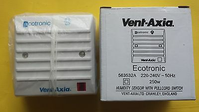 Vent Axia Ecotronic Humidity Sensor with pullcord switch (563532)