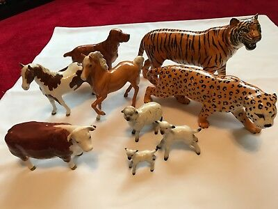 Beswick Animal Collection In Excellent Condition.