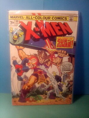 X - Men 89 , Sub-Human App. . Marvel1974 , Very-Good .*uk.only