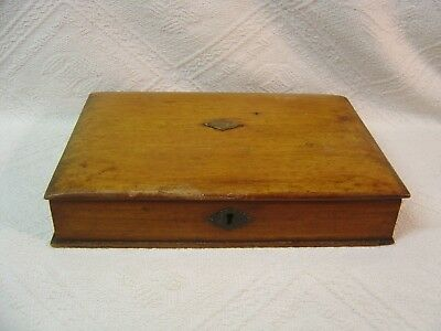 Antique Wooden Art / Artists Box - Book Form / Style