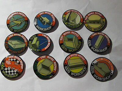 home depot collectibles home depot kids workshop 12 old  lapel pins