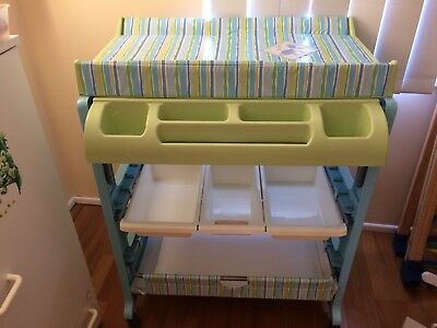 Baby Bath And Change Table Stand