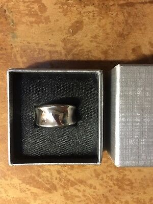 Silver Ring made by Nicholas Pike, Adelaide South Australia