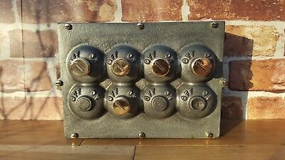 Vintage Industrial Light switch by Crabtree - very rare and stunning.
