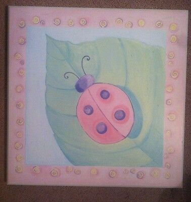 Lady Bug Wall Art