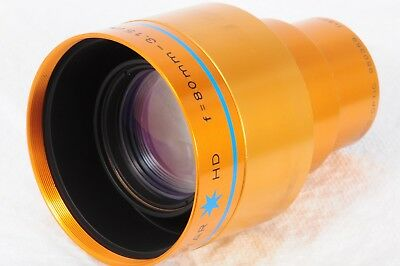 Isco Ultra Star HD High Definition 80mm Projection Lens READ 359