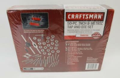 NEW Craftsman 50-Piece Inch and Metric Tap and Die Set MPN 952381
