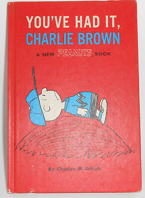 You've Had It, Charlie Brown by Charles Schulz (1969, Hardcover)