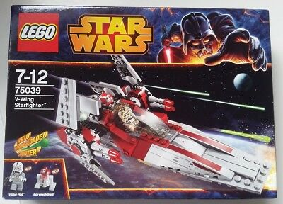 Genuine LEGO -75039 - STAR WARS V-WING STARFIGHTER - BRAND NEW SEALED BOX
