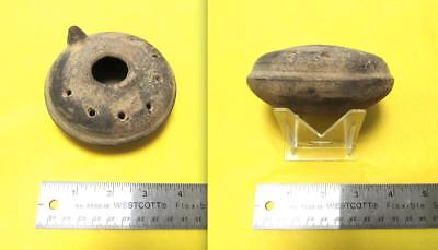 Ancient Israel -- Oil Lamp -- 100 Ce (Ad) -- Museum Quality -- Jewish Holy Land