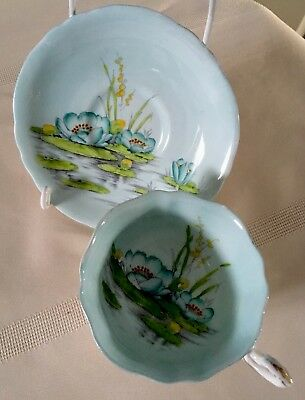 Vintage, Rare Paragon Hand Painted Cup And Saucer.