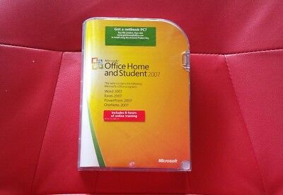 Microsoft Office Home and Student 2007 Home and Student 3  User Licence