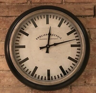 Large 'English Electric Clock Company' Oversized (51cm) Wall Clock | RRP £65