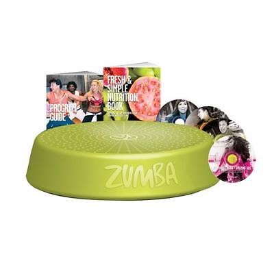 On Sale  Zumba Incredible Results Dvd Set Includes Step Riser