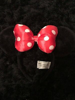 Authentic Minnie Mouse Ears from Florida DisneyLand