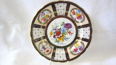 """Antique Vintage Paragon Queen Mary Luncheon Salad Plate 8 1/4"""""""