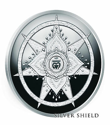 "2018 1OZ Root Chakra Proof - Silver Shield - ""Pre-Sale"" Mini-Mintage Series"