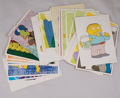 The Simpsons Panini Stickers - 31 unused stickers from the Sticker Album