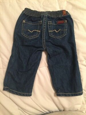 7 For All Mankind Toddler Jeans 3/6 M Baby Pants