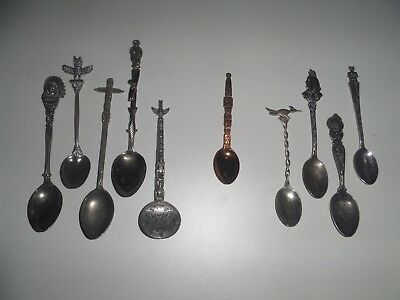 Bell Trading Post Spoon, Navajo Silver Spoon, Native Sterling Spoons