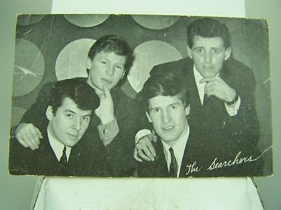 1960's The Searchers promotional postcard band singers group    1300